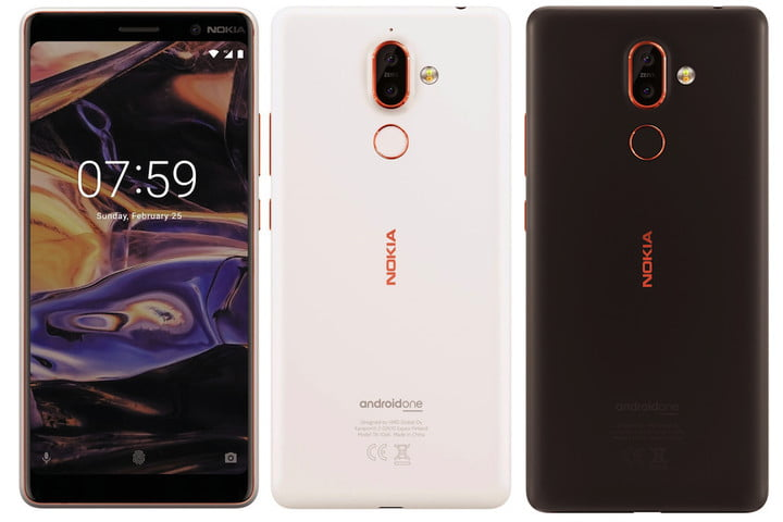 Nokia 7+ leaks heavily to showcase 18:9 screen, dual cameras and colour options