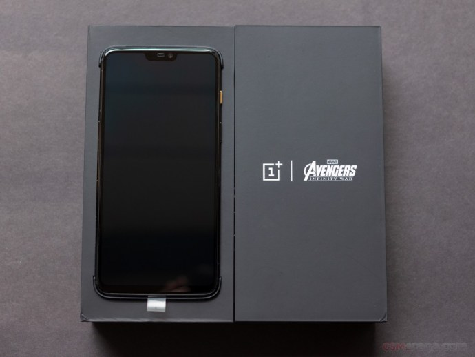 OnePlus 6 Avengers Infinity Wars Edition