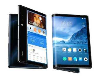 Royole Corporation unveils the First Foldable Smartphone