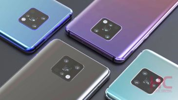 Alleged renders of the Huawei Mate 30 Pro leaks today