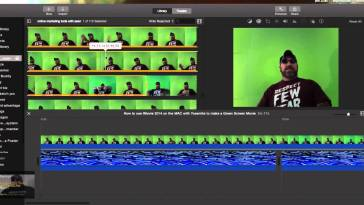 iMovies Gets Green Screen Support Feature