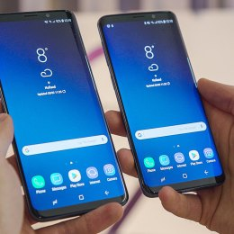 Samsung brings new messaging feature, improved AR Emoji to Galaxy S9 lineup