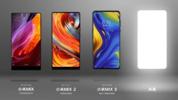 Xiaomi Mi Mix 4 leaks heavily, shows off innards and some design elements