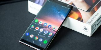 Nokia 8 Sirocco starts getting a bump to the Android 10