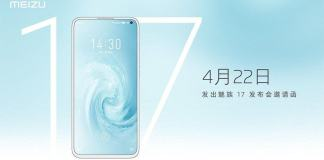 Meizu 17 confirmed to hit the market on April 22