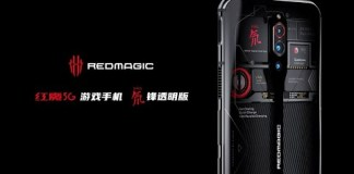 Nubia Red Magic 5G Transparent Edition to cost 5,199 Yuan (~$735).