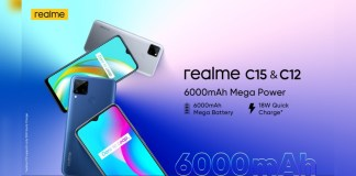 Realme launches the C12 and C15 smartphones in India.