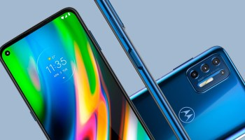 High resolution renders of the Moto E7 Plus and Moto G9 Plus leaked.
