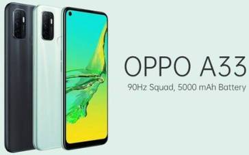 OPPO A33 Arrives in India with a 90Hz screen and 3GB of RAM for Rs 11,990