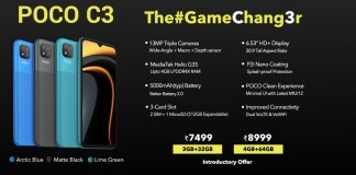 POCO India Officially Launches the POCO C3 Smartphone Today