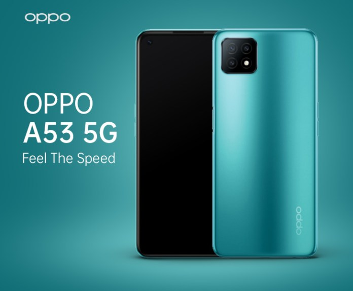 Full Specifications, Launch Date, and Pricing Details of the OPPO A53 5G Revealed
