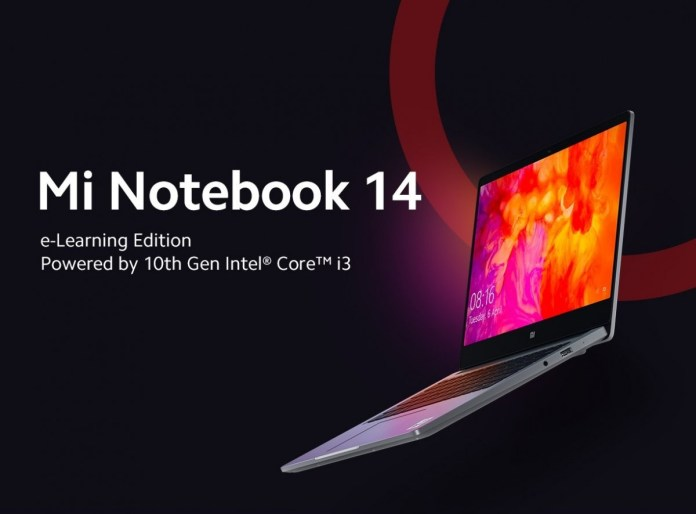 Xiaomi Mi Notebook 14 e-Learning Edition Launched in India for ₹36,999 (~$498)