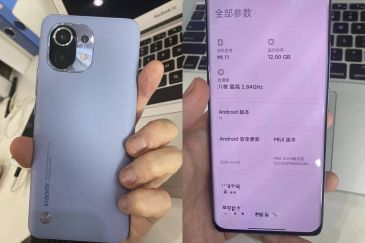 Live Images of the Xiaomi Mi 11 Emerge; Reveals True Design and A Few Specifications