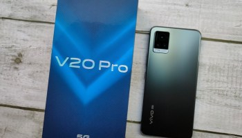 Vivo Officially Launches the Vivo V20 Pro 5G Smartphone in India for Rs 29,990 (~$407)