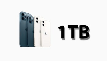 Supply Chain Reports Apple might be working on 1TB iPhone 13 models