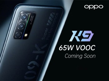 OPPO K9 5G smartphone with Snapdragon 768G and 90Hz display launched in China