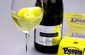 Easter candy and wine. It's a thing.