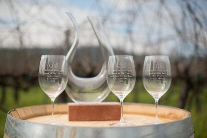 Winemaker of the Year trophies