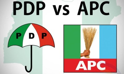Nice Drama! Karma in play - APC Members Massive Defection From APC to PDP