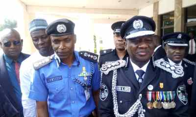 New IGP Adamu with the Outgoing Ibrahim