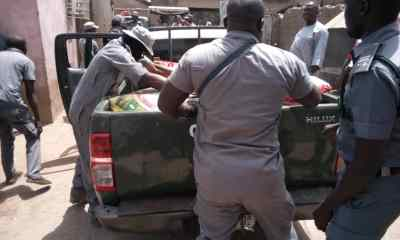Adamawa Command of Nigeria Customs Service Records Success in Fight Against Smuggling - Foreign Rice