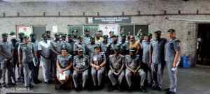 ACG Modupe Aremu Continues Tour, Visits Apapa, Tincan and PTML..Charges NCS Officers to be good Model..