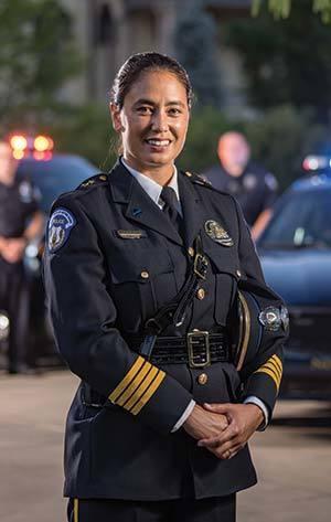 Introducing Notre Dame Police Chief Keri Kei Shibata