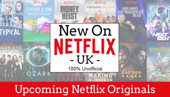 All this week's Netflix Originals (Available from Friday