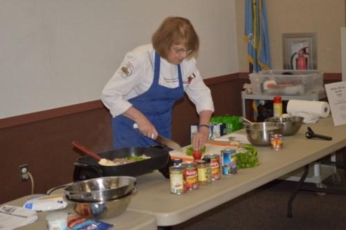 """Chef Carolyn """"Bonnie"""" Aronson"""