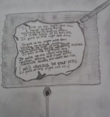 a poem from one of the program participants