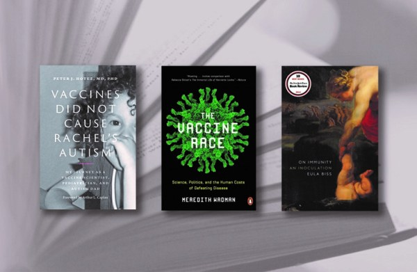 Collage of National Immunization Awareness Month book covers
