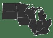 GMR proudly serves: Illinois, Indiana, Iowa, Kentucky, Michigan, Minnesota, North Dakota, Ohio, South Dakota, and Wisconsin.