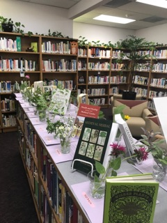herbal and book displays