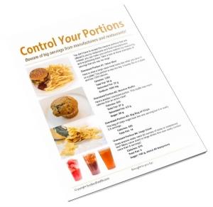 Portion Control Handout