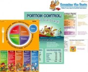 Get a great nutrition overview with these colorful and engaging handouts