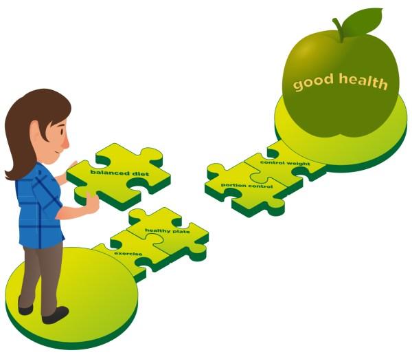 Good Health Goal Clip Art Cliparts