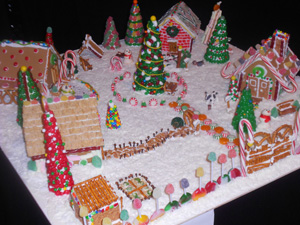 Gingerbread House Village Brings Holiday Wonderland To Ford Center