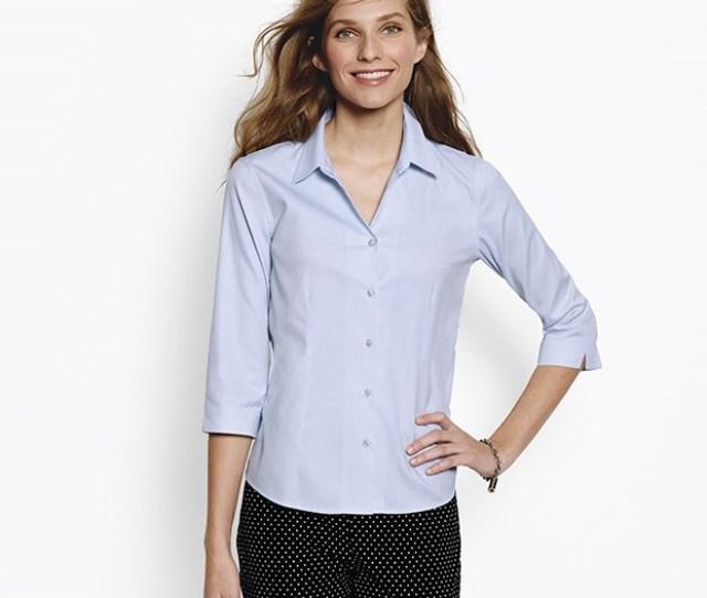Wrinkle Free Three Quarter Sleeved Shirt Photo Via Orvis Com Packing The Best Travel Clothing