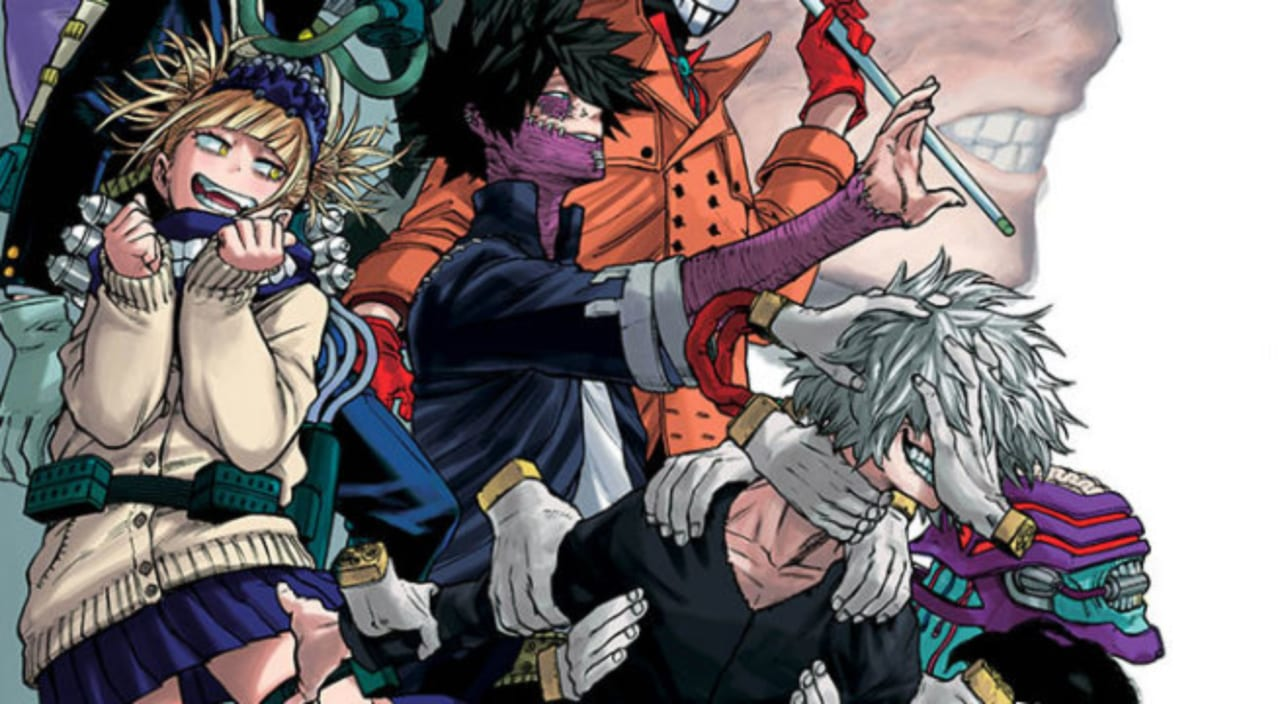When there are heroes, there must be. My Hero Academia Chapter 216 update And Spoilers: New Arc ...