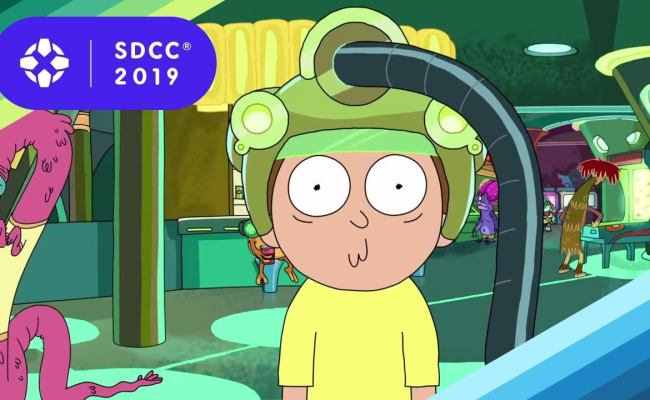 Rick And Morty Season 4 First Look Clip Premieres At Sdcc