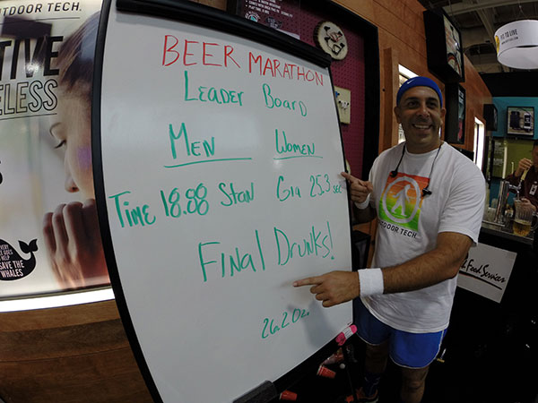 Beer Marathon Final Results