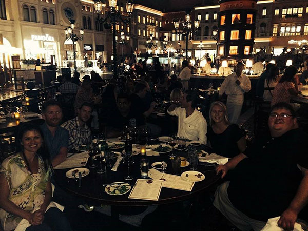 Outdoor Tech Interbike Dinner