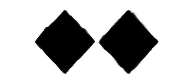 Double Black Diamond Ski Slope Symbol