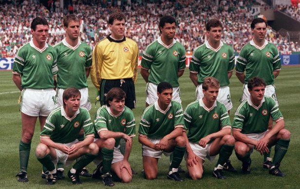 Give it a lash Jack! Ireland's Euro '88 & Italia '90 sides reunited