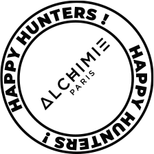 Logo Happy Hunters - Agence Alchimie - Paris