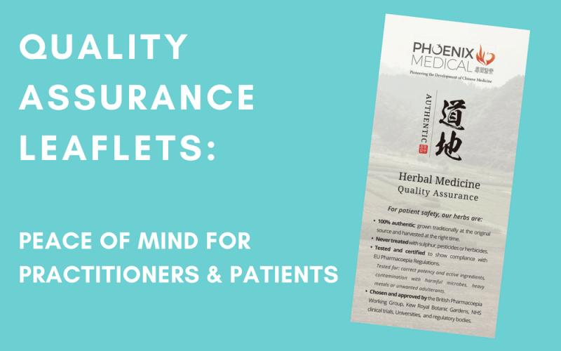 Quality Assurance Leaflets
