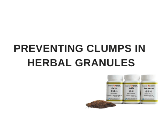 How To Stop Granules Clumping