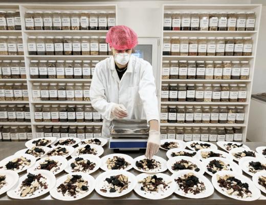 chinese herbal dispensary