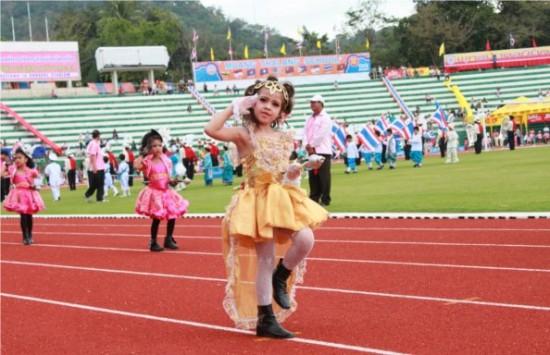 แข่งขันกีฬาอนุบาล จ.ภูเก็ต ครั้งที่ 1 ประจำปี 2554