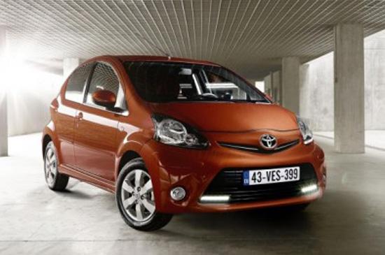 2012 Toyota Aygo โตโยต้า ยาโก้ ซิตี้คาร์น้องเล็กปรับโฉมใหม่